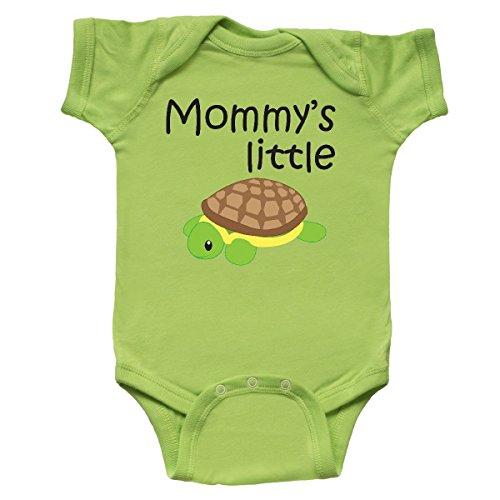 inktastic - Mommy's Little Turtle Infant Creeper Newborn Key Lime 1827f