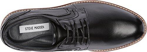Steve Madden Men's Orlando Oxford, Black Leather, 12 M (Steve Madden Zappos)