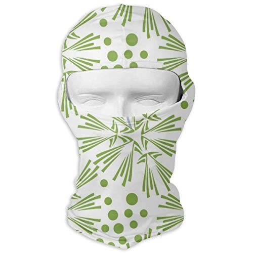 - JJKYL Greenery Dandelion Seamless Pattern Wallpaper Vector Image Full Face Mask Hood Sunscreen Mask Cycling Hunting Hiking Skiing Mask Dual Layer Cold for Men and Women