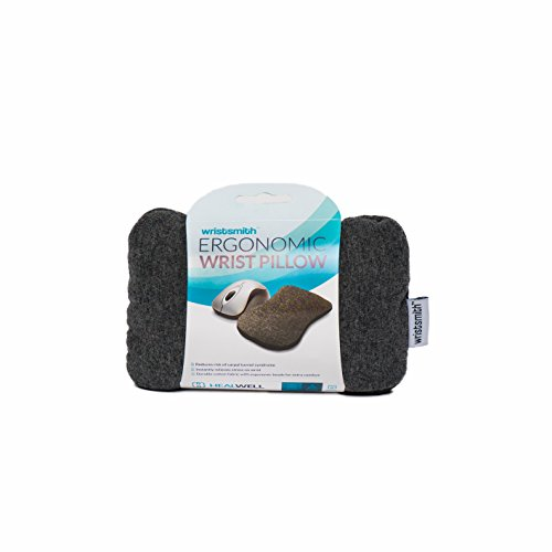 Healwell Wrist Rest Support for Mouse, Computer, Laptop, Keyboard- Ergonomic Accessories Wrist Pillow Cushion- Prevent Carpal Tunnel