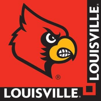 20-Count Paper Beverage Napkins, Louisville Cardinals