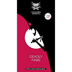 Deadly Fame – Murder Mystery Dinner Party Game for 5-8 Players