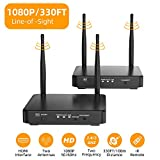 HDMI Wireless Extender, Ansten 328ft /100m Wireless AV Transmiiter and Receiver with Loop-Out