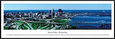 Louisville, Kentucky - Blakeway Panoramas Unframed Skyline Posters-P