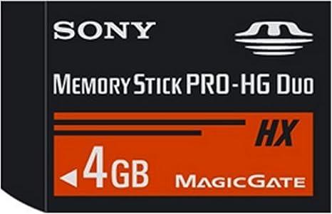 Amazon.com: Sony Memory Stick PRO-HG Duo HX tarjeta de ...