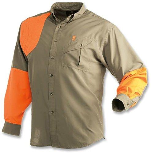 Browning Cross Country Long Sleeve Shirt, Khaki, 3X-Large