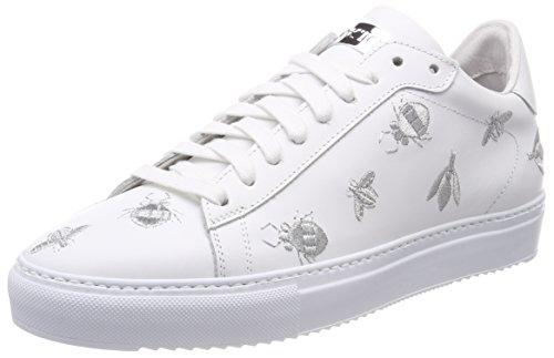 Women''s Multicolour white Trainers silver Stokton Sneaker silver White tdwqvtpIn