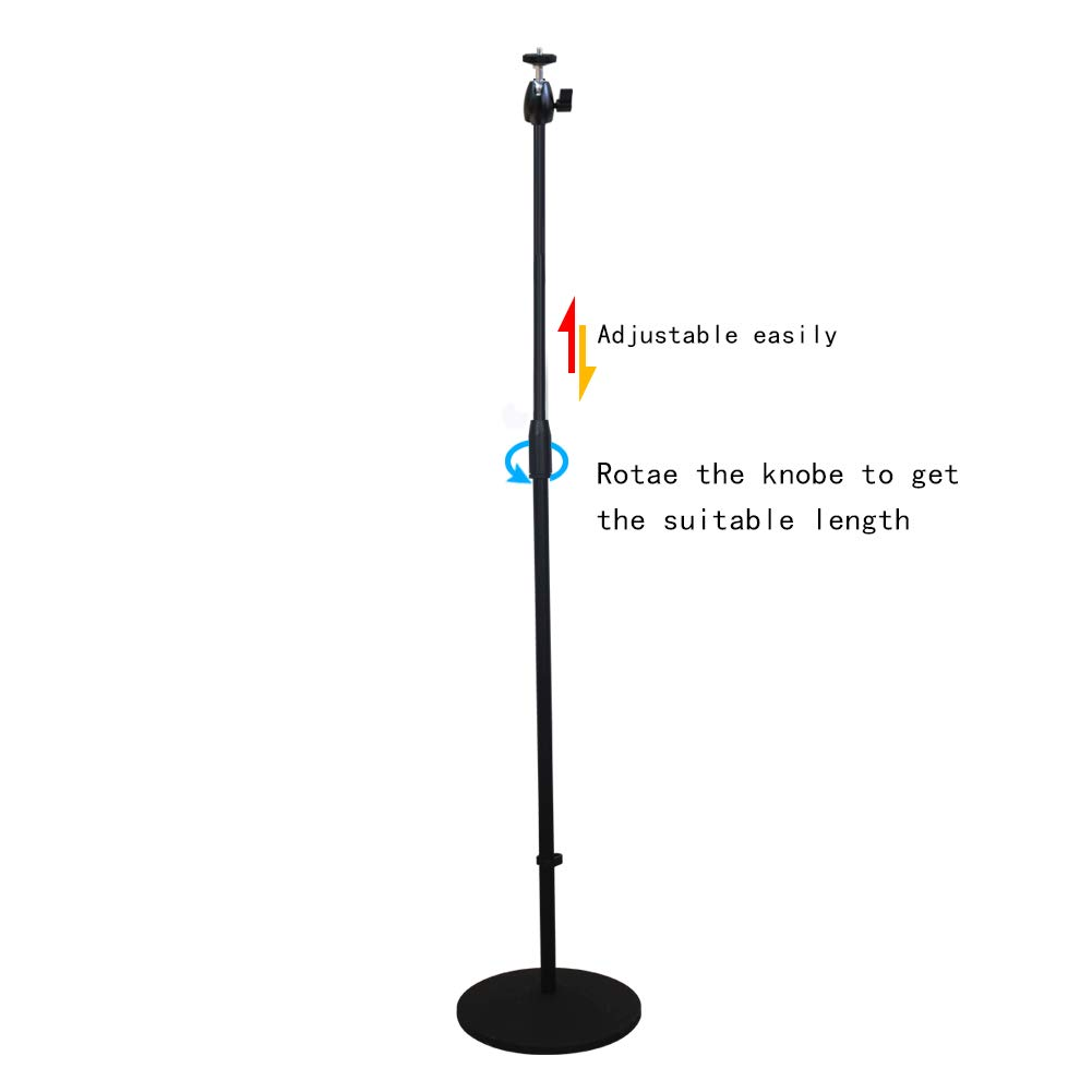 s67118 Pipe can be flexibly Adjusted,26.37 to 46.45,fit 6.6lbs or Less Projector Stand,Adjustable Mount Floor Stand Length can be Adjusted