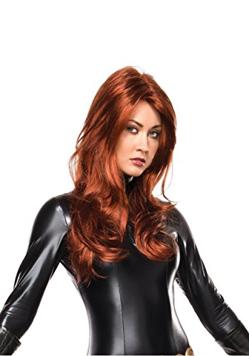 Rubie's Costume Co Marvel Universe Black Widow Wig, Multi, One Size ()