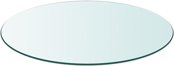 Glastisch Tischplatte Garten Gehärtetes Glas Tisch Glasplatte Multi-Größe Auswah