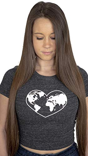 Love Earth Crop TOp Womens