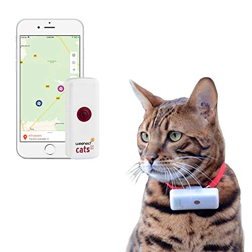 Weenect Cats 2 - GPS Tracker for Pet Cat