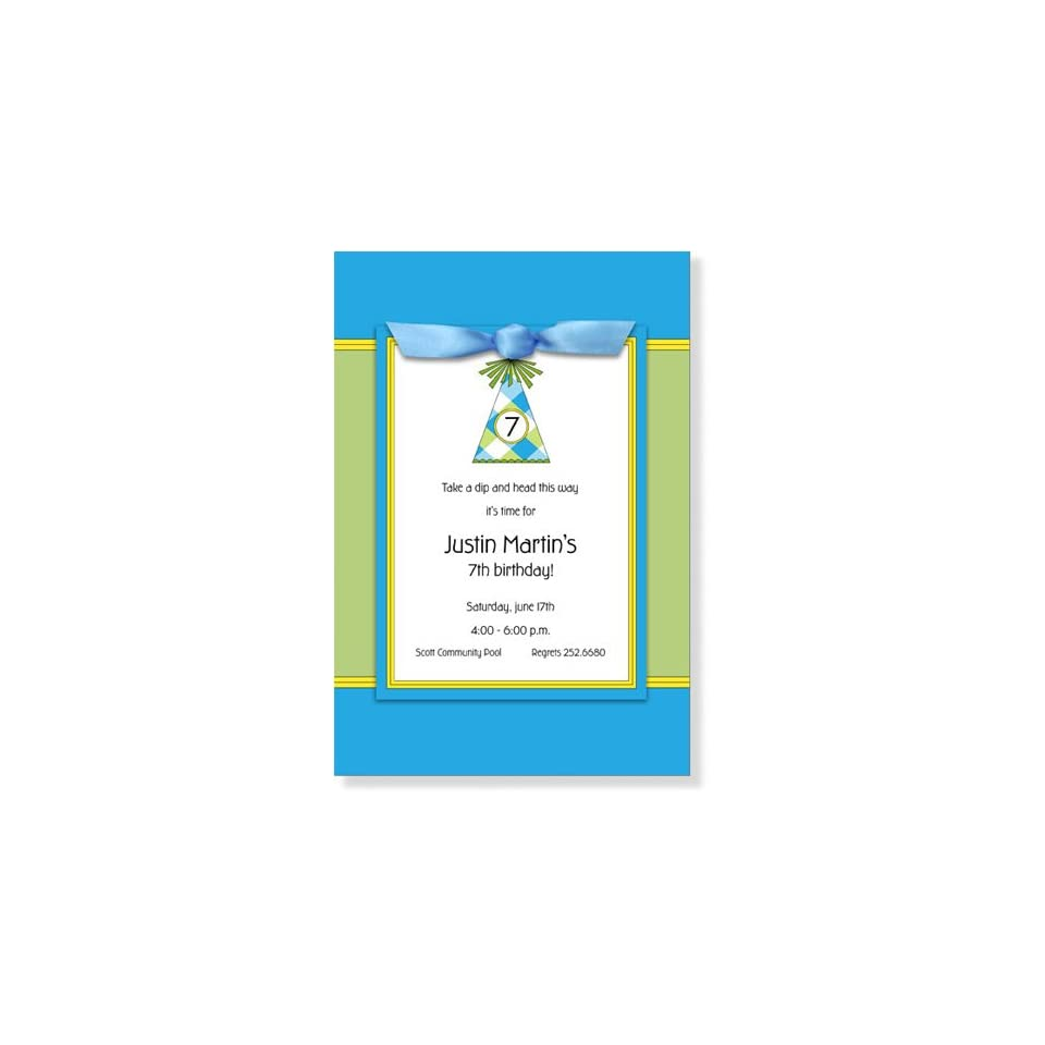 Childrens Birthday Party Invitations   M33 HR8