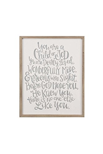 Glory Haus Child of God Framed Board, Multicolor by Glory Haus