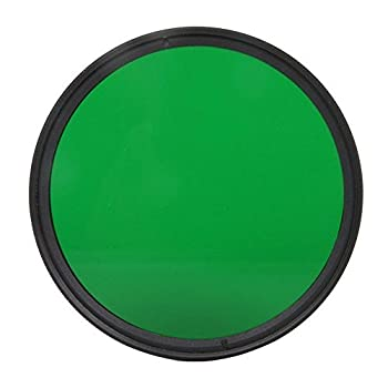 1pcs 37mm 40.5mm 43mm 46mm 49mm 52mm 55mm 58mm 62mm 67mm 72mm 77mm 82mm Full Green Color Lens Filter Protector (58mm)