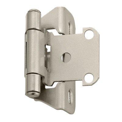 Amerock Bp7566-G10 Hinge 1/4in Overlay Satin Nickel