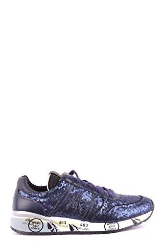PREMIATA Damen MCBI245049O Blau Leder Sneakers