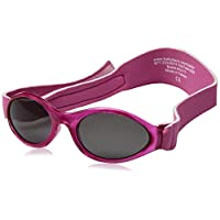 Adventure BanZ Baby Sunglasses, Flamingo Pink, 0-2 Years