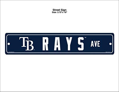 - Wincraft MLB Tampa Bay Rays Street Sign