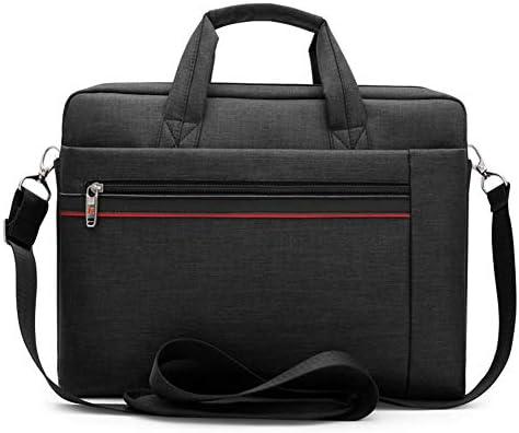 Dsti 16 Zoll Laptophülle, Multifunktional Wasserdicht Umhängetasche Aktentasche, Abnehmbarer Schultergurt Für Männer/Schüler