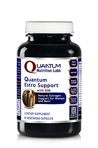 Quantum Estro Support, 60 Capsules - Natural Estrogen Support Formula with DIM for Advanced Hormone Support for Women