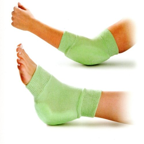 Medline Knit Protector Fits on Elbow or Heel - One Pair Heel Elbow
