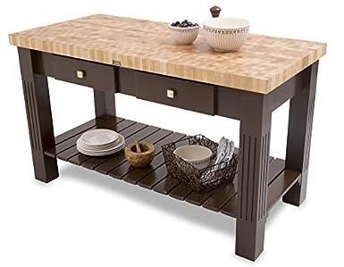 End Grain Coffee Table.John Boos End Grain Maple Grazzi Table 60 X 28 X 2 25 Butcher Block Top