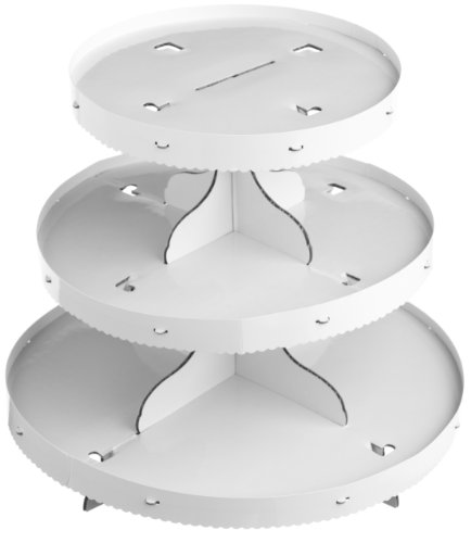 Wilton 3-Tier Treat Stand, White