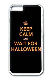 iPhone 6 Case, Wait Halloween Custom Hard PC Clear Case Cover Protector for New iPhone 6 4.7inch