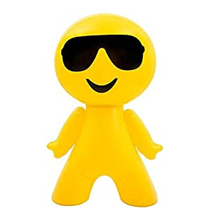 "27"" Inflatable Cool Guy In Sunglasses Emoji Emote Face Man Decoration"