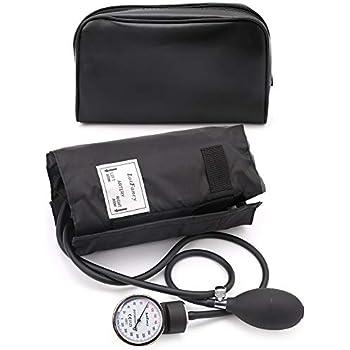 Amazon.com: HealthSmart Professional Aneroid Sphygmomanometer Blood ...