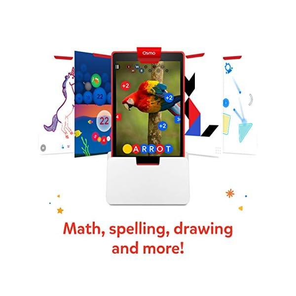 Osmo for Learning Games-Ages Genius Starter Kit 5 Giochi di apprendimento Hands-On-età 6-10-Problem Solving & Creativity-STEM-(Base Tablet Fire Inclusa-Esclusiva), Colore, 901-0008/901-00028 3 spesavip