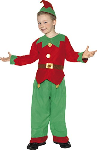 Costume Uk Elf (Elf Child Costume - Small)
