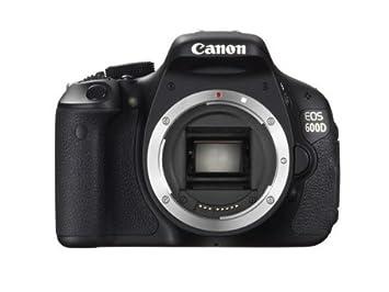 Canon EOS 600D - Cámara Digital: Amazon.es: Electrónica