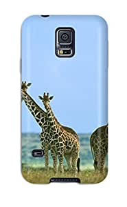 Durable Defender Case For Galaxy S5 Tpu Cover(giraffe For Pc )