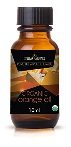 Stellar Naturals Organic USDA Aromatherapy Set of Lavender, Eucalyptus, Lemongrass, Peppermint, Tea Tree and Orange for Therapeutic Bliss by Stellar Naturals (Image #5)