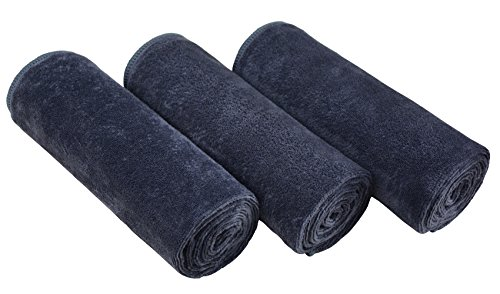 - MAYOUTH Microfiber Gym Towels Fast Drying & Absorbent Sports Hand Towels for Sweat Fitness,Golf, Yoga, Travel and Camping 3-Pack 16inch X 32inch Grey
