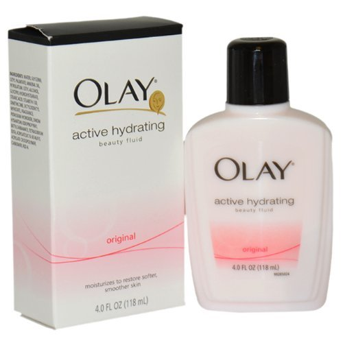 Hydrating Face Fluid (OLAY Active Hydrating Beauty Fluid Lotion Original 4 OZ - Buy Packs and SAVE (Pack of 2))