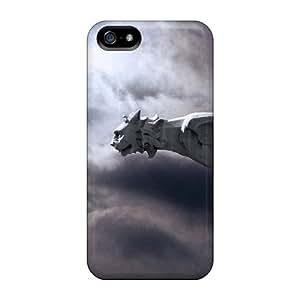 Tpu Mwaerke Shockproof Scratcheproof Gargoyle Moon Hard Case Cover For Iphone 5/5s by icecream design