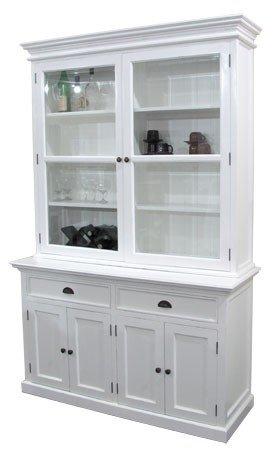 Küchenschrank mit Glastüren und Einlegeböden: Amazon.de: Küche ...