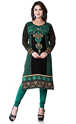 Printed-long-tunics-Kurti-tops-Multiple-Styles-colors-Long-Sleeves-Must-See