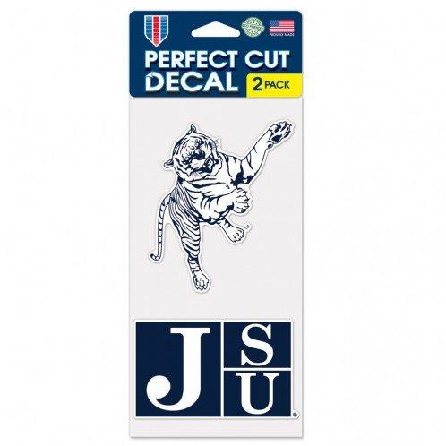 Jackson State Tigers Set of 2 Die Cut Decals (4