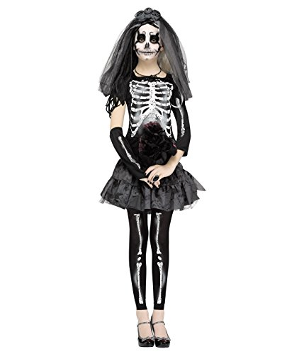 Junior Skeleton Bride Teen Costume