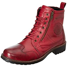 Royal Enfield Jungle Boots Red EU 43 / UK 9(RLCSHOL00028)