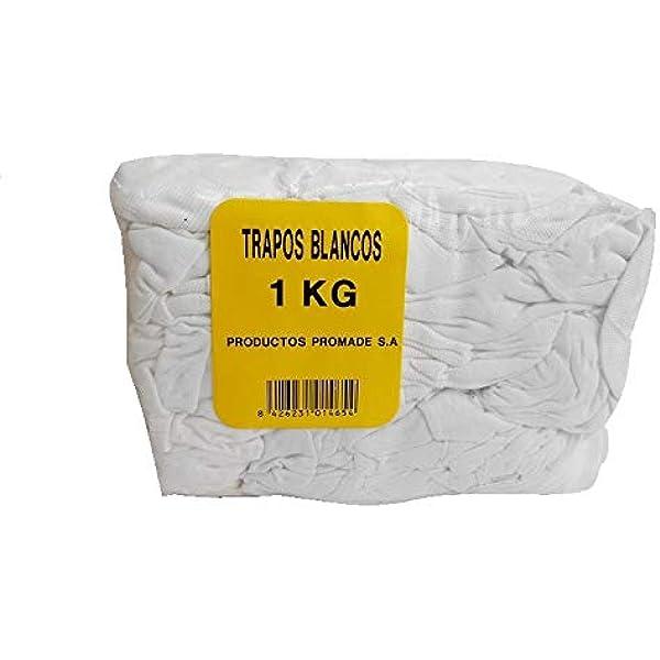 Promade - Trapos blancos de algodón para la aplicación de barnices ...