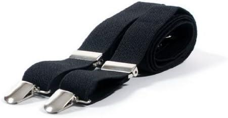 5Five Donna Uomo Bretelle Regolabili Elastico Fasce 3 Clip Suit Pantaloni Unisex Clip di Pantaloni