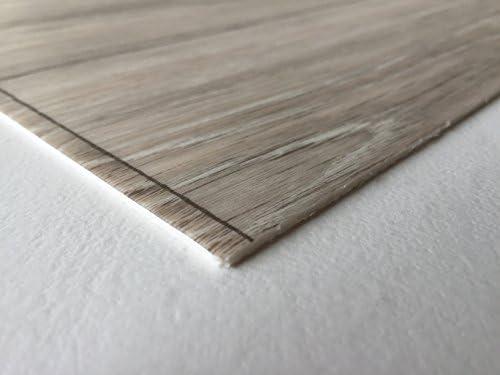 Muster Fu/ßbodenheizung geeignet e PVC Planken PVC-Bodenbelag XL Holzdielenoptik Braun Strukturiert L/ängen /& Breiten Made in Germany Vinylboden versch Stark strapazierf/ähiger Fu/ßboden-Belag