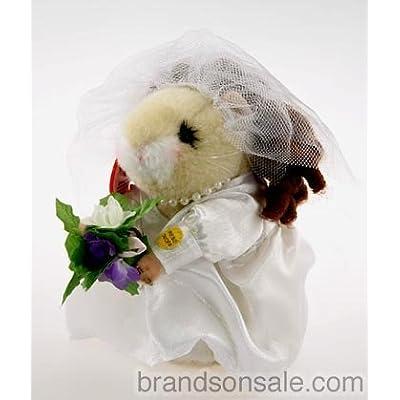 Hamsterette Bride Dancing Hamster by Gemmy: Toys & Games