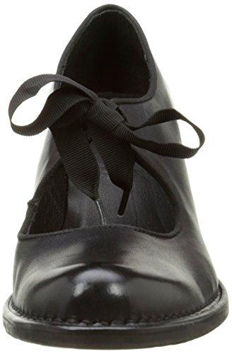 Neosens Rococo 859 - Zapatos de Talón Abierto, Mujer Negro (Ebony)