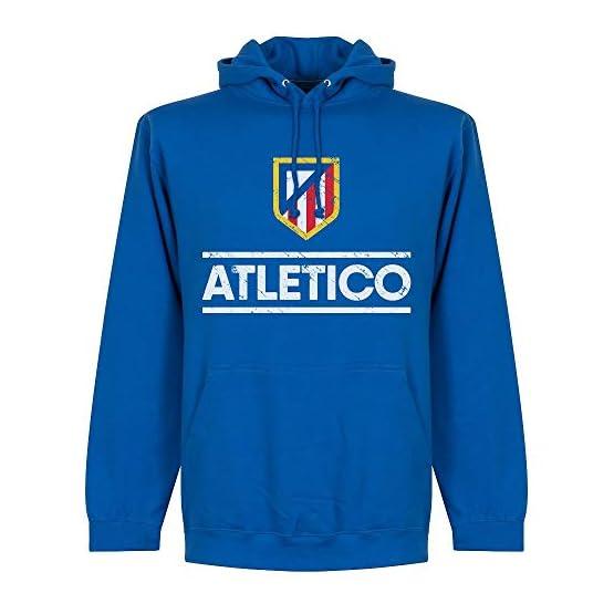 Retake Atletico griez Homme No7Capuche Pulover-Bleu